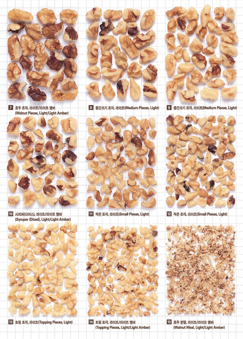 walnut size