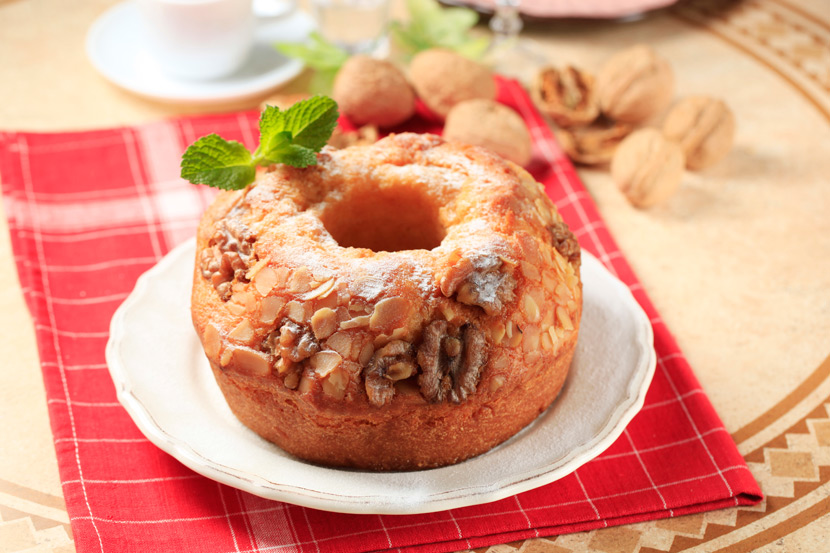 달콤하고 향긋한 단풍향 호두 파운드 케이크 레시피