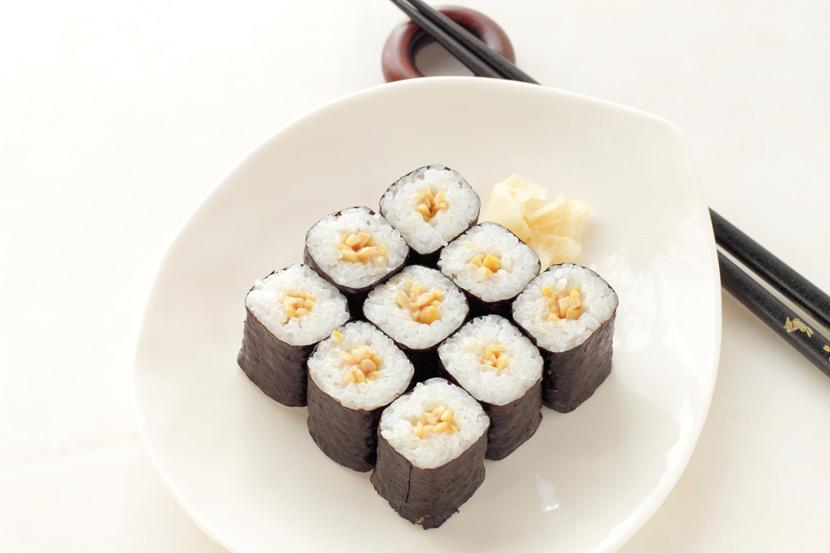 채식요리 추천,  콩페이스트로 만든 호두 초밥 레시피
