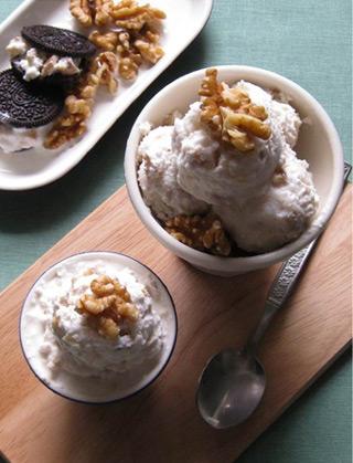 고소하고 영양만점인 디저트, 호두 아이스크림 레시피