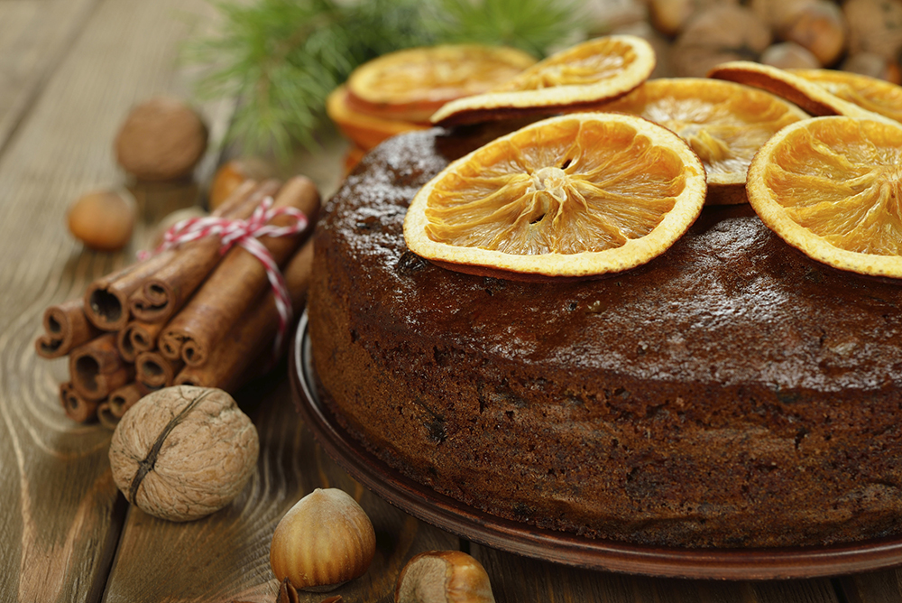 california walnut orange cake