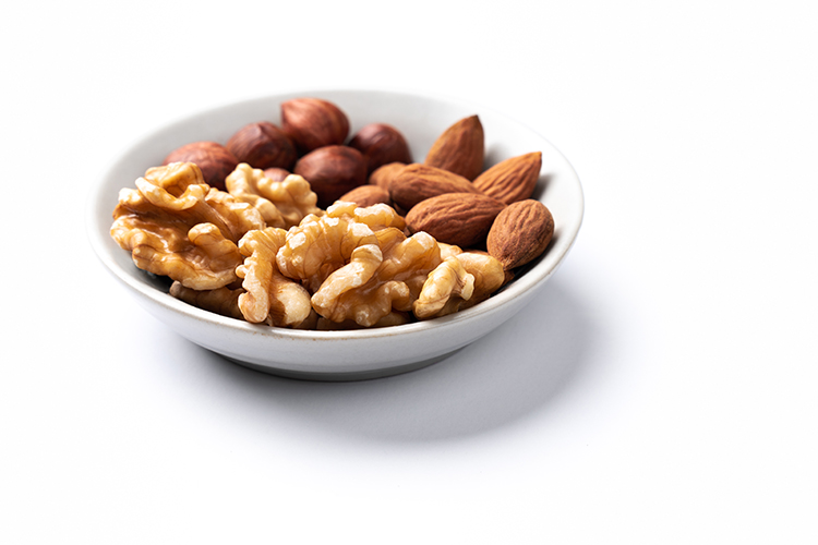 호두가 포함된 지중해 식단 임신성 당뇨 개선에 도움